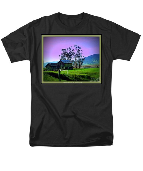 Men's T-Shirt  (Regular Fit) featuring the photograph Days Gone By by Bobbee Rickard