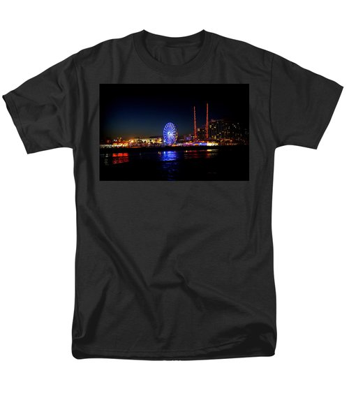 Men's T-Shirt  (Regular Fit) featuring the photograph Daytona At Night by Laurie Perry