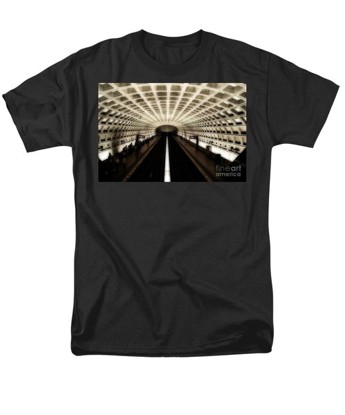 Men's T-Shirt  (Regular Fit) featuring the photograph Dc Metro by Angela DeFrias