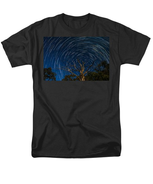 Dead Oak With Star Trails Men's T-Shirt  (Regular Fit) by Paul Freidlund