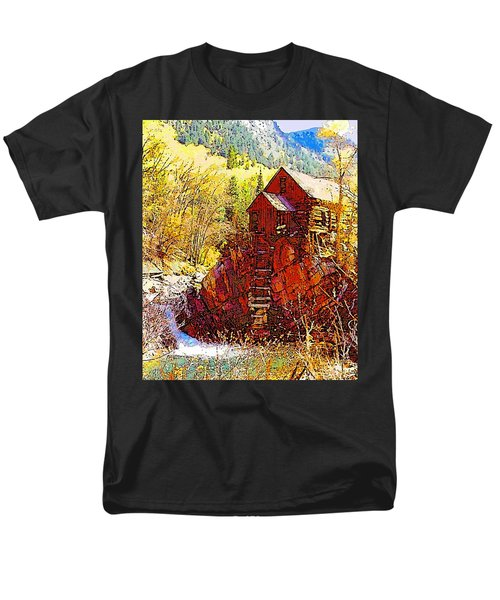 Deadhorse Mill Men's T-Shirt  (Regular Fit) by Dan Miller