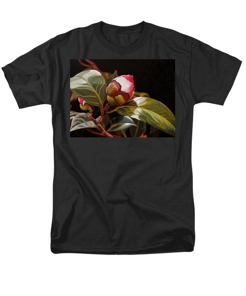 December Rose Men's T-Shirt  (Regular Fit) by Thu Nguyen