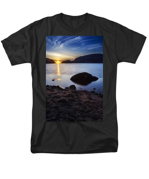 Deception Pass 3 Men's T-Shirt  (Regular Fit) by Sonya Lang