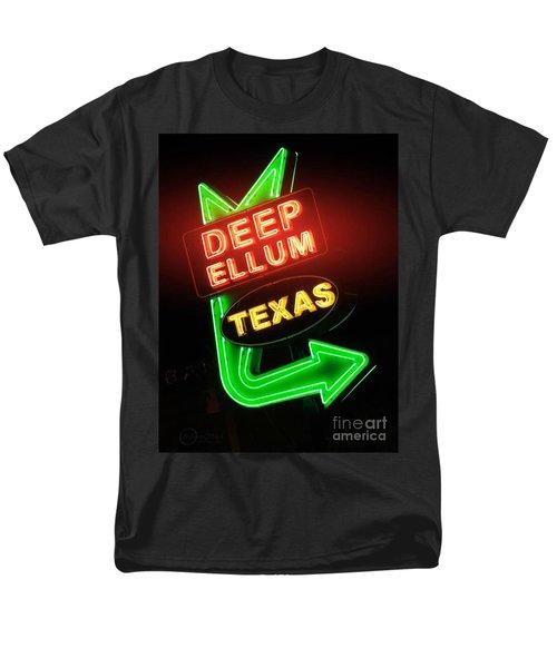 Deep Ellum Red Glow Men's T-Shirt  (Regular Fit) by Robert ONeil
