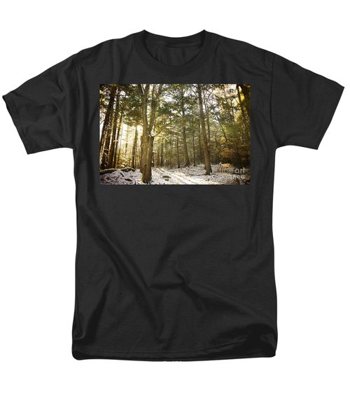 Men's T-Shirt  (Regular Fit) featuring the photograph Deep In The Forest by Alana Ranney