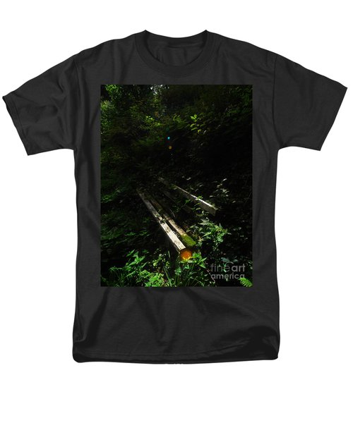 Men's T-Shirt  (Regular Fit) featuring the photograph Deep In The Woods by Andy Prendy