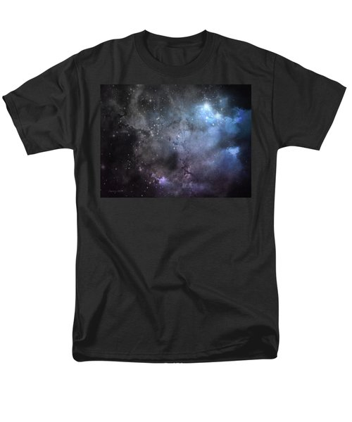 Men's T-Shirt  (Regular Fit) featuring the photograph Deep Space by Cynthia Lassiter