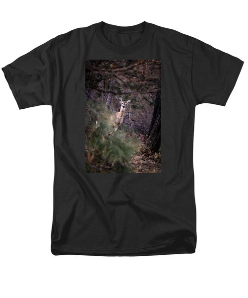 Men's T-Shirt  (Regular Fit) featuring the photograph Deer's Stomping Grounds. by Joshua Martin