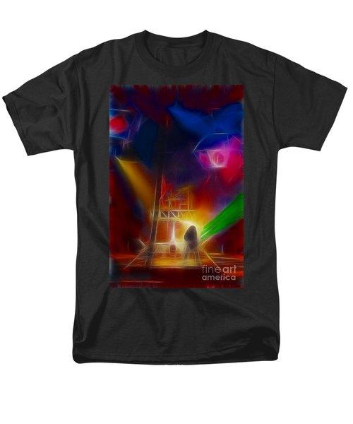 Def Leppard-adrenalize-gf10-fractal Men's T-Shirt  (Regular Fit) by Gary Gingrich Galleries