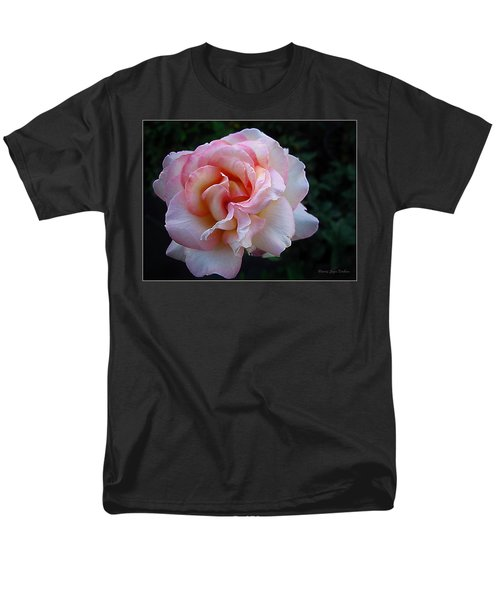 Delicate Pink Men's T-Shirt  (Regular Fit) by Joyce Dickens