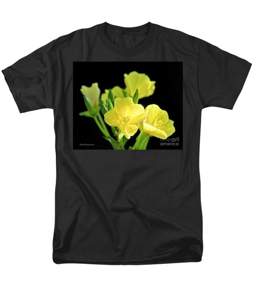 Delicate Yellow Wildflowers In The Sun Men's T-Shirt  (Regular Fit) by David Perry Lawrence