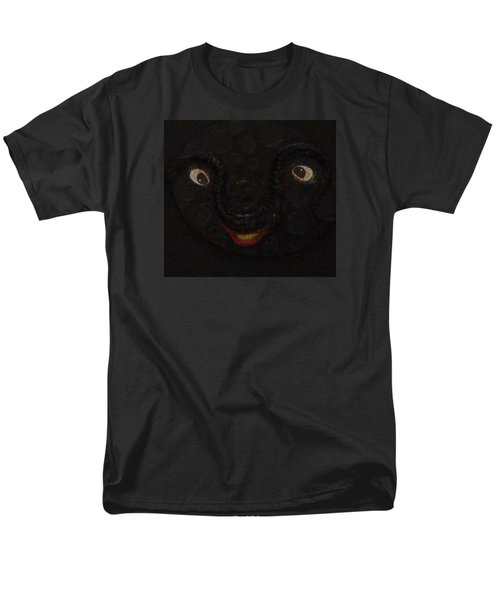 Men's T-Shirt  (Regular Fit) featuring the mixed media Dark Smile by Douglas Fromm