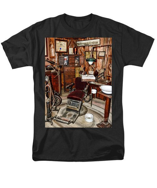 Dentist - The Dentist Chair Men's T-Shirt  (Regular Fit) by Paul Ward