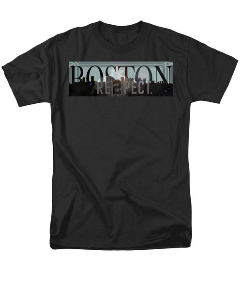 Derek Jeter - Boston Men's T-Shirt  (Regular Fit) by Joann Vitali