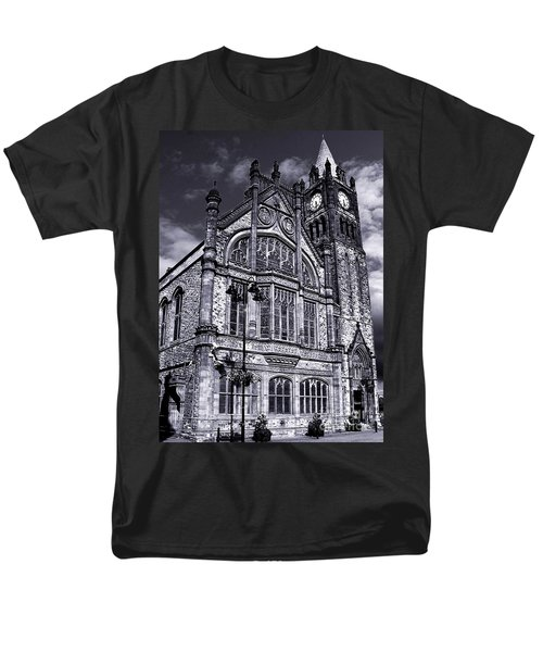 Men's T-Shirt  (Regular Fit) featuring the photograph Derry Guildhall by Nina Ficur Feenan