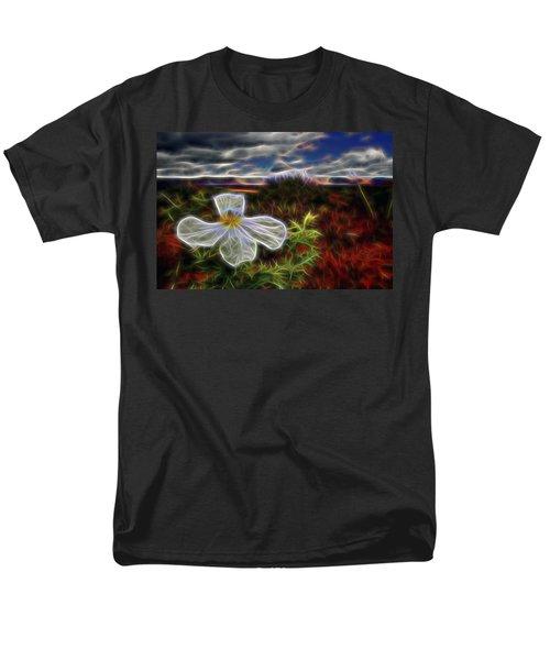 Desert Primrose 1 Men's T-Shirt  (Regular Fit) by William Horden