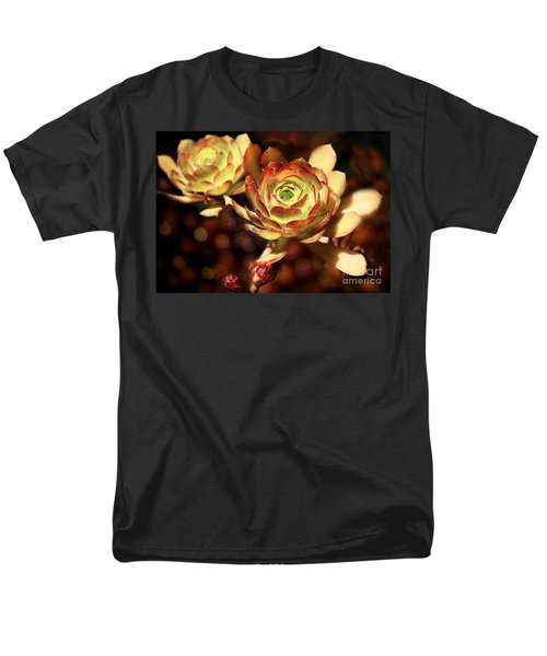 Desert Roses Men's T-Shirt  (Regular Fit) by Ellen Cotton