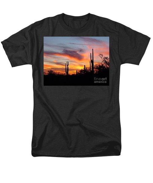 Desert Sunset Men's T-Shirt  (Regular Fit) by Joseph Baril