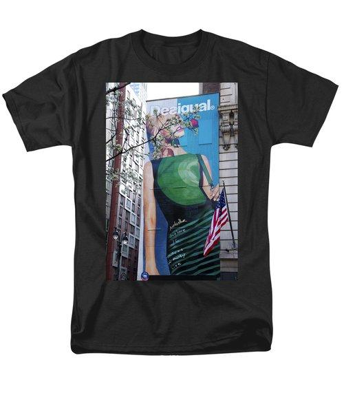 Desigual Men's T-Shirt  (Regular Fit) by Alice Gipson