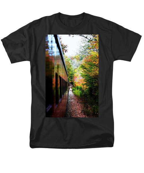 Men's T-Shirt  (Regular Fit) featuring the photograph Destination by Faith Williams