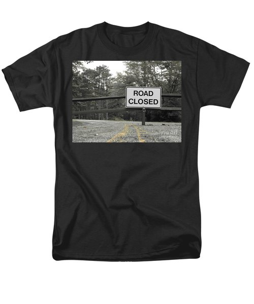 Men's T-Shirt  (Regular Fit) featuring the photograph Detour by Michael Krek