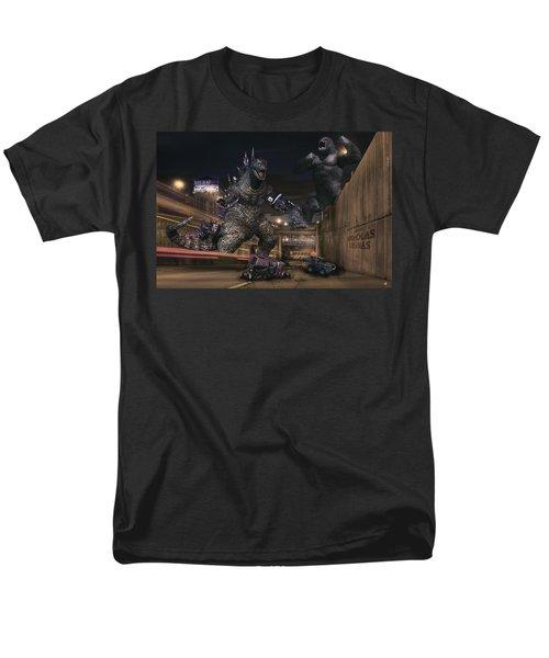 Detroits Zoo Men's T-Shirt  (Regular Fit) by Nicholas  Grunas