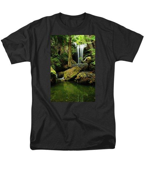 Devil Creek Falls  Men's T-Shirt  (Regular Fit) by Jeff Swan