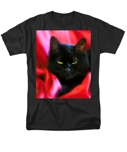 Devil In A Red Dress Men's T-Shirt  (Regular Fit) by Bob Orsillo