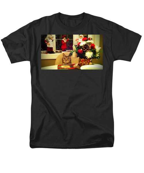 Dinner Time Men's T-Shirt  (Regular Fit) by Catie Canetti