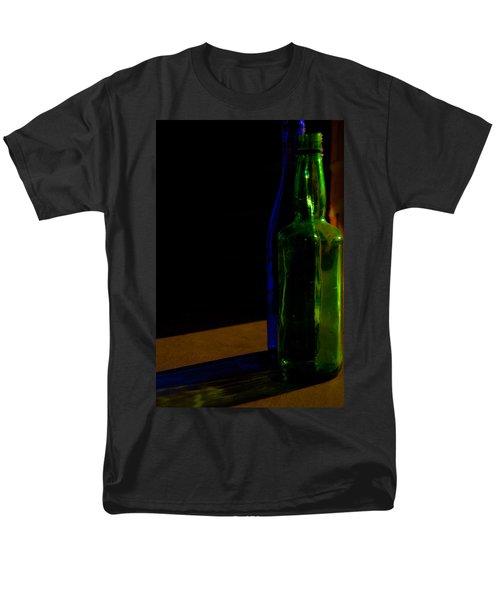 Discarded Bottles 2 Men's T-Shirt  (Regular Fit) by Mark Alder