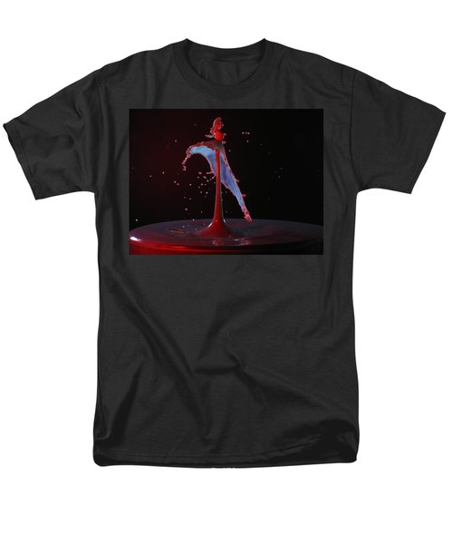 Men's T-Shirt  (Regular Fit) featuring the photograph Distressed by Kevin Desrosiers