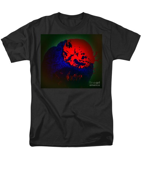 Men's T-Shirt  (Regular Fit) featuring the painting Divide by Jacqueline McReynolds