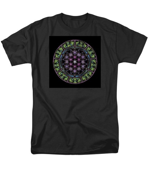 Men's T-Shirt  (Regular Fit) featuring the painting Divine Feminine Energy by Keiko Katsuta