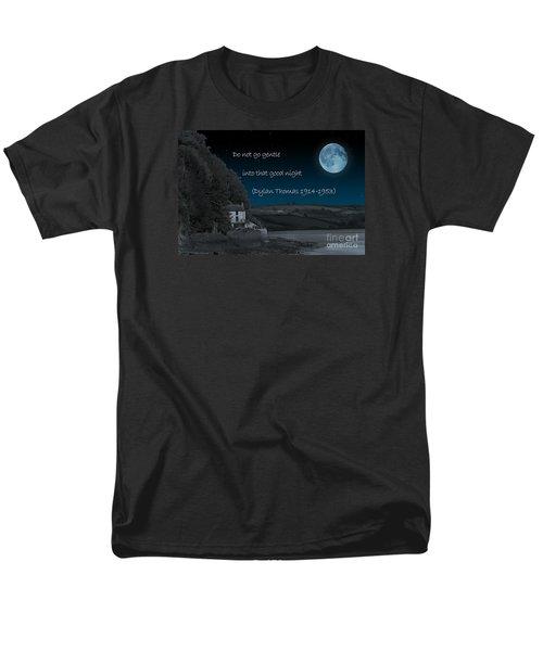 Do Not Go Gentle Men's T-Shirt  (Regular Fit)