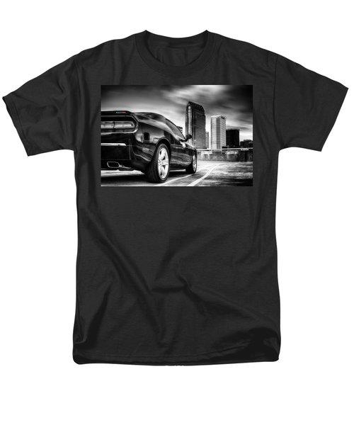 Dodge Challenger Tampa Skyline  Men's T-Shirt  (Regular Fit)
