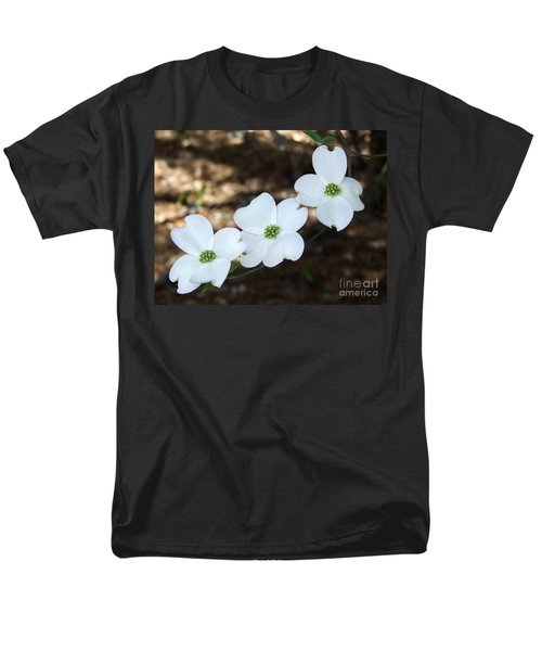 Dogwood Men's T-Shirt  (Regular Fit) by Andrea Anderegg