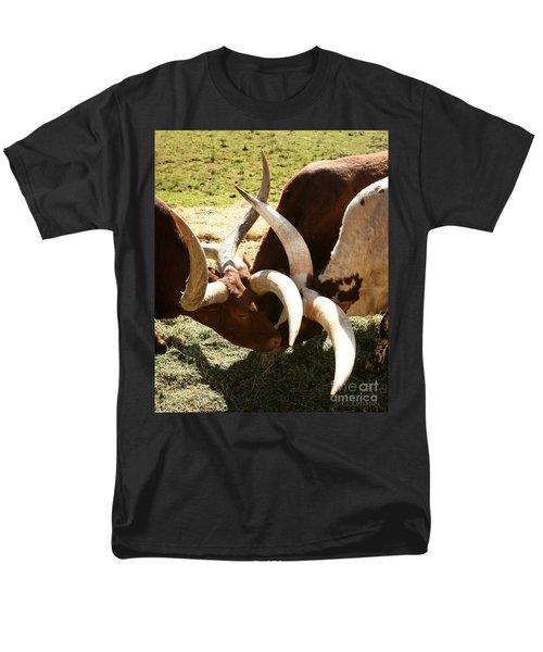 Men's T-Shirt  (Regular Fit) featuring the photograph Doing The Watusi by Carol Lynn Coronios