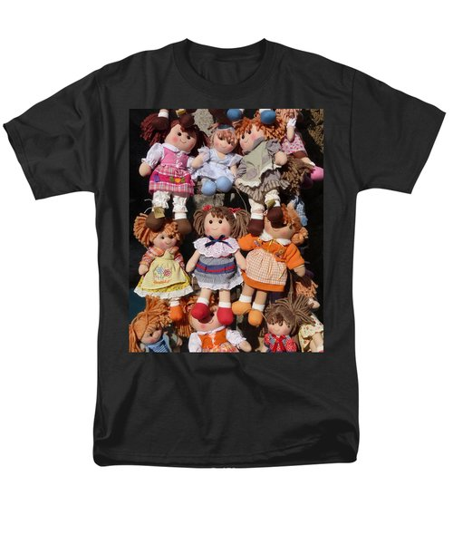Men's T-Shirt  (Regular Fit) featuring the photograph Dolls by Marcia Socolik