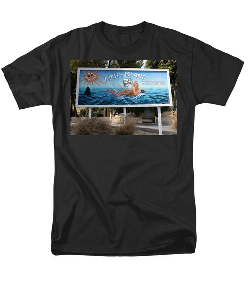 Don't Go In The Water Men's T-Shirt  (Regular Fit) by David Nicholls
