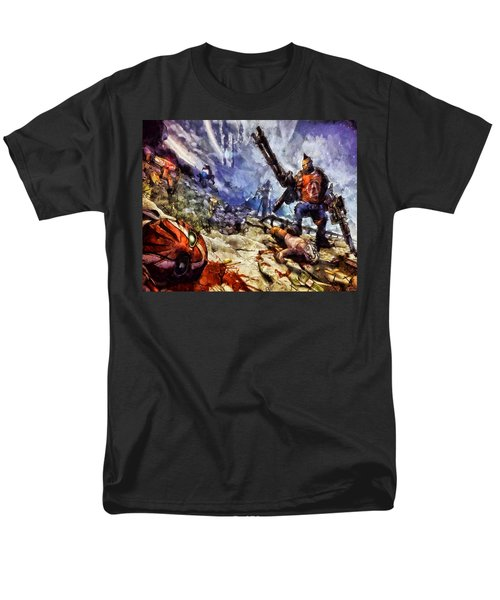Don't Mess With The Gunserker Men's T-Shirt  (Regular Fit) by Joe Misrasi