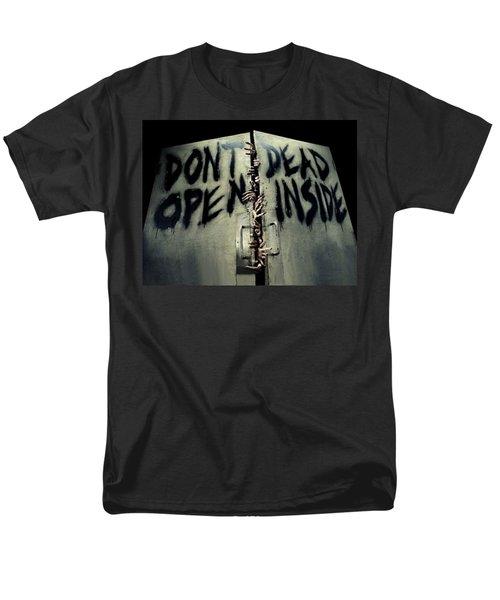 Don't Open Dead Inside Men's T-Shirt  (Regular Fit) by Paul Van Scott