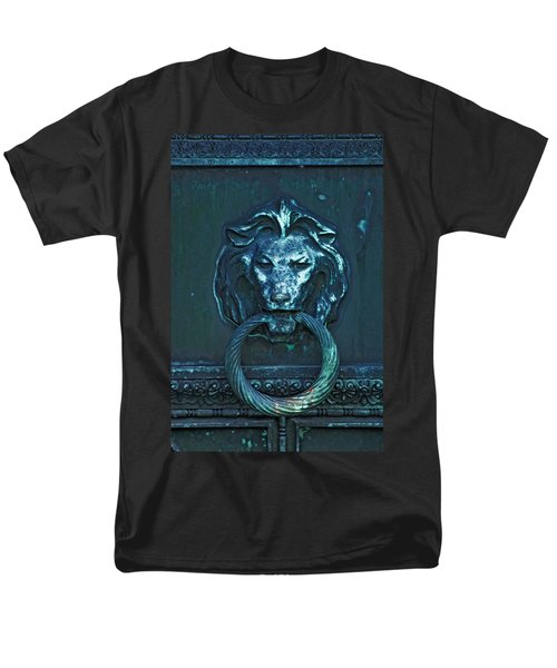 Door Knocker Men's T-Shirt  (Regular Fit) by Rowana Ray