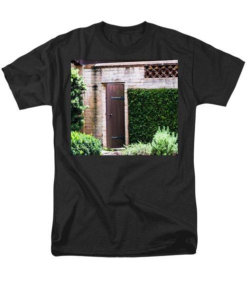 Door To The Past Men's T-Shirt  (Regular Fit) by Susan Molnar