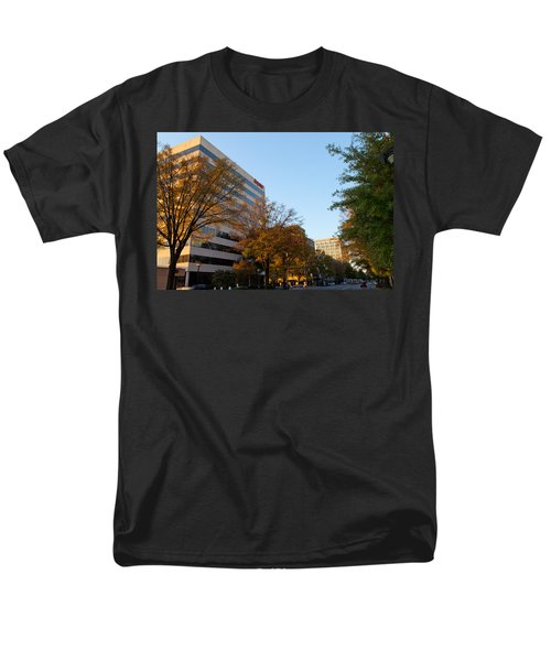 Downtown Chattanooga Men's T-Shirt  (Regular Fit) by Melinda Fawver
