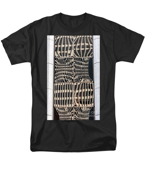 Downtown Reflection Men's T-Shirt  (Regular Fit) by Kate Brown
