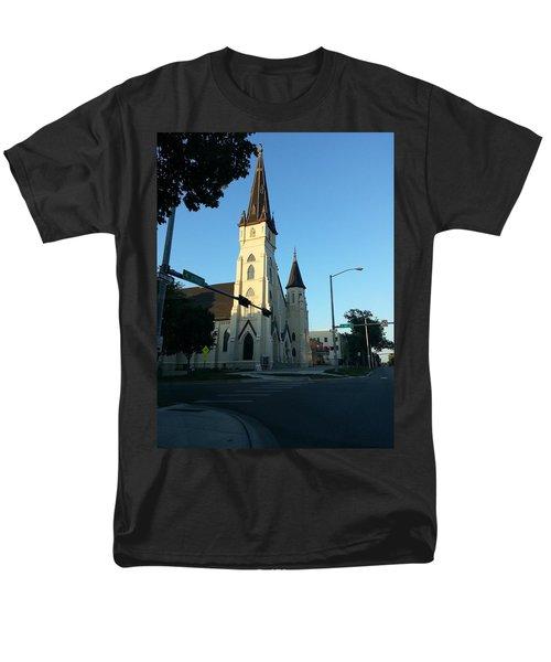 Downtown Worship Men's T-Shirt  (Regular Fit)