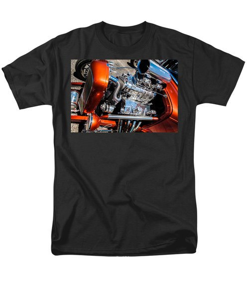 Drag Queen - Hot Rod Blown Chrome  Men's T-Shirt  (Regular Fit)