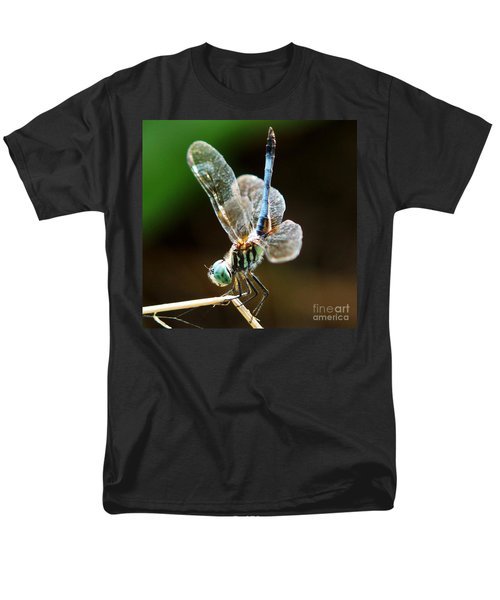 Dragonfly Headstand Men's T-Shirt  (Regular Fit) by Kim Pate