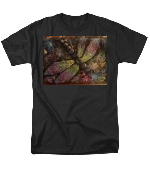Men's T-Shirt  (Regular Fit) featuring the painting Dragonfly by Megan Walsh