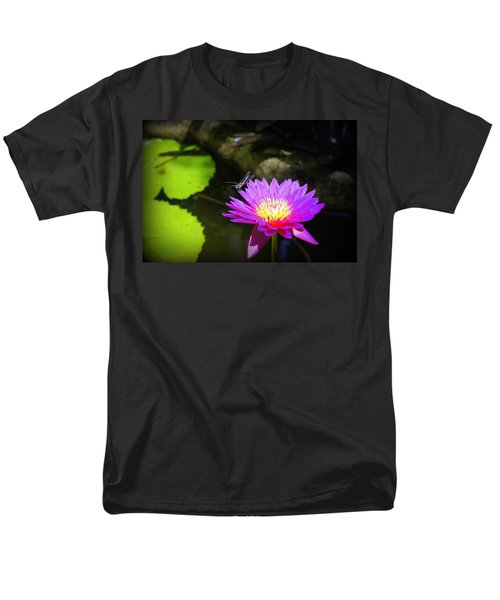 Men's T-Shirt  (Regular Fit) featuring the photograph Dragonfly Resting by Laurie Perry